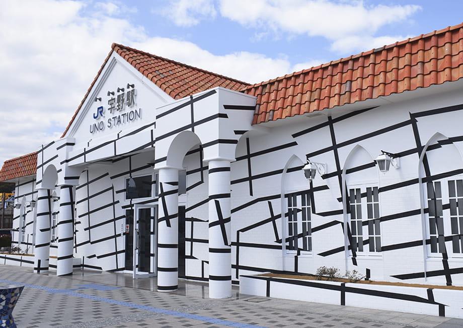 JR宇野駅の外観