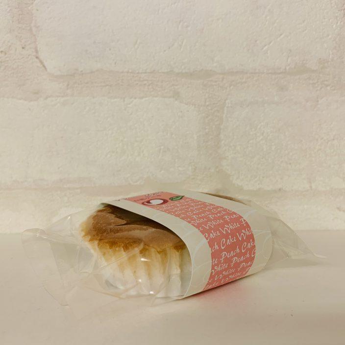 白桃ケーキ側面画像