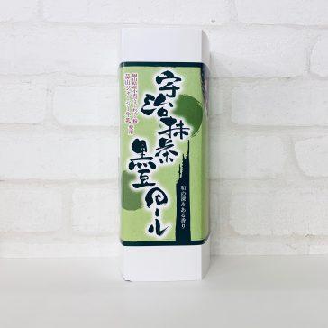 宇治抹茶黒豆ロール