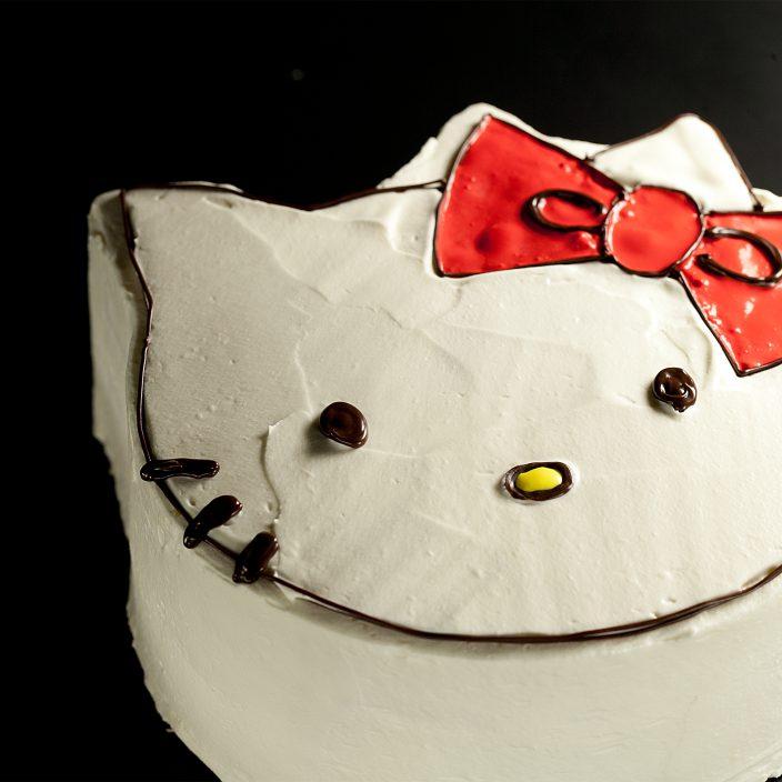 キャラクターデコレーションケーキキティ
