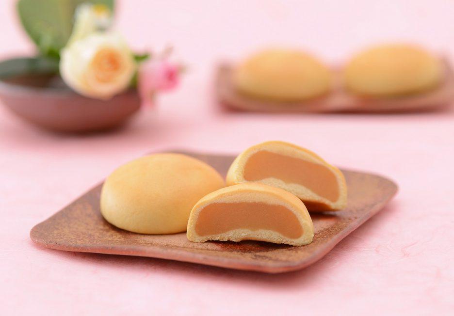 白桃みるく饅頭